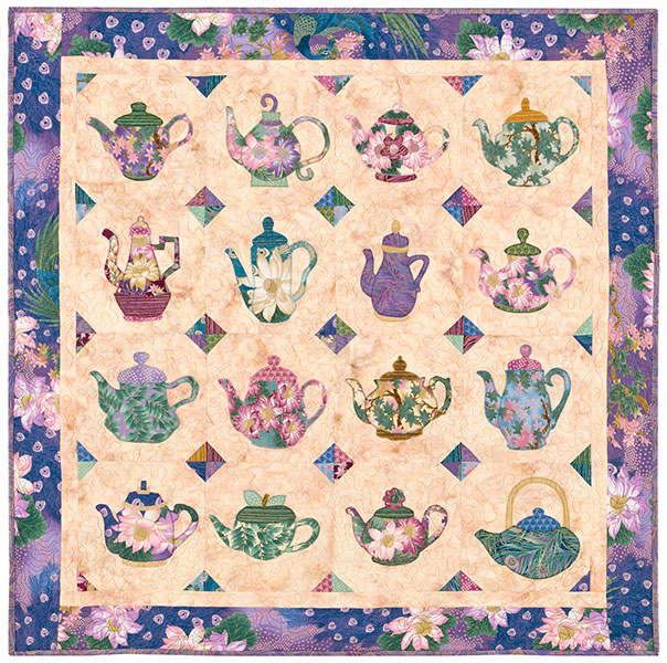 Tea with the Empress quilt