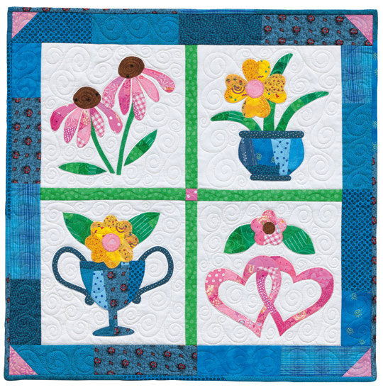 Flower Patch by Kay Mackenzie