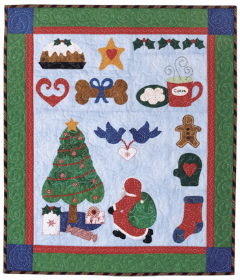 Happy Christmas to All quilt