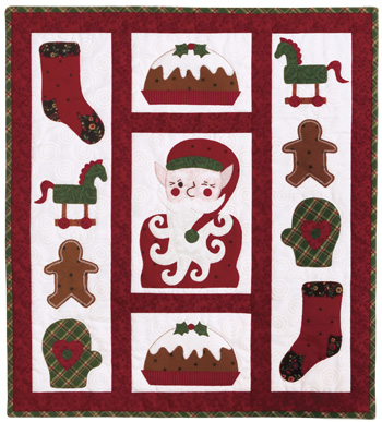 A Right Jolly Old Elf quilt