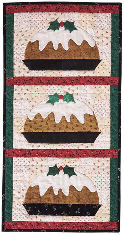 Plum Pudding quilt