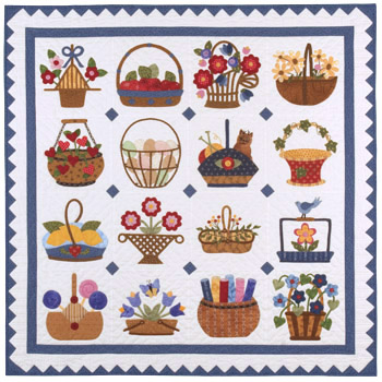 Sixteen Baskets quilt