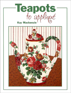 Front Cover of Teapots to Appliqué